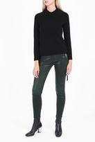 Frame Spruce Skinny Leather Trousers