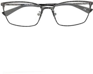 Balenciaga Rectangular-Frame Glasses