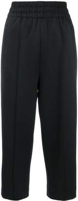 Marc Jacobs contrast stripes track trousers
