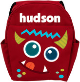 Personalized Planet Backpacks - Red Monster Personalized Backpack