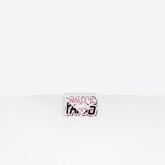 Balenciaga Papier Mini Wallet Graffiti