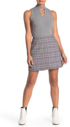 Love, Fire Printed Skirt