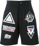 Kokon To Zai patched denim shorts - men - Cotton - XL
