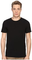 Vince Short Sleeve Pima Cotton Crew Neck Shirt Men's Short Sleeve Pullover