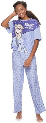 Licensed Character Disney's Frozen Elsa Pajama Tee & Pajama Pants Set