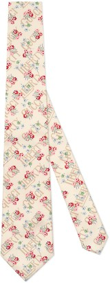 Gucci Liberty floral cotton tie