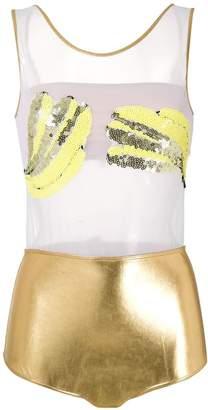 BRIGITTE Banana carnaval bodysuit