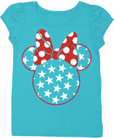 Freeze Minnie Mouse Americana Puff-Sleeve Tee - Toddler