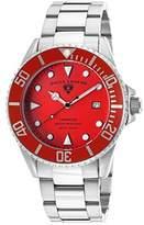Swiss Legend Men's 21344-55 Luminous Analog Display Swiss Quartz Silver Watch