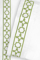 Jonathan Adler Parish Full Sheet Set - Green
