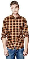 GUESS Mathew Checkered Slim-Fit Shirt