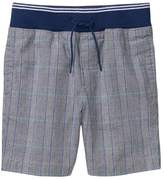 Crazy 8 Pull-On Plaid Shorts