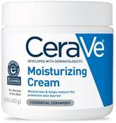CeraVe Moisturizing Cream for Normal to Dry Skin, Fragrance Free Body and Face Moisturizer - 16oz