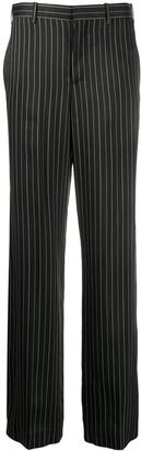 Neil Barrett Pinstripe Straight Leg Trousers