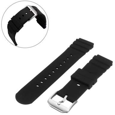 Generic 21mm Rubber Wrist Watch Band Strap for DPB 3000 3900 8400 8000 Navy  Seal
