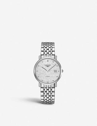 Longines L4.810.4.77.6 Elegant stainless steel and diamond watch