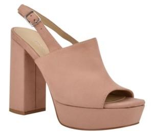 GUESS Caleesy Platform Dress Sandals Women's Shoes