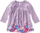 Tea Collection Zappai Graphic Dress (Baby) - Antique/Purple - 18-24 Months Baby - 18-24 Months