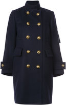 Sacai peacoat with inner vest