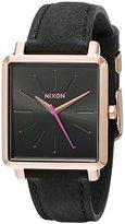 Nixon Women's A4722239 K Squared Analog Display Japanese Quartz Grey Watch