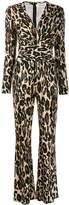 Diane von Furstenberg leopard print jumpsuit