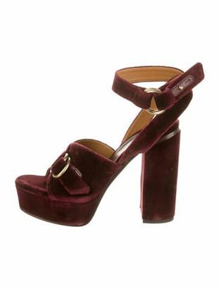 Chloé Platform Ankle Strap Sandals w/ Tags