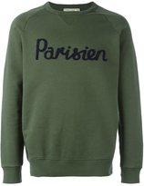MAISON KITSUNÉ raglan sleeve sweatshirt