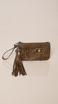 Juicy Couture Brown Wristlet