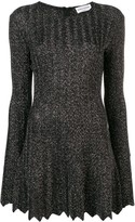Sonia Rykiel glitter pleated dress