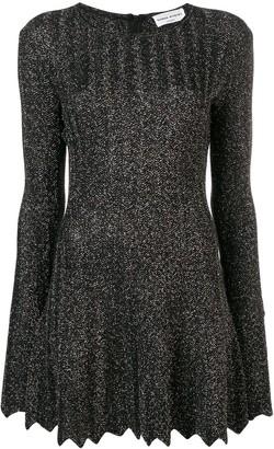 Sonia Rykiel Glitter Pleated Dress