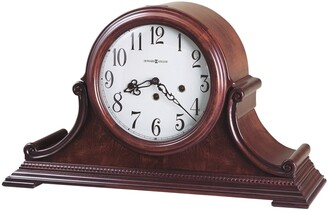 Howard Miller Palmer Retro Cherry Wood Chiming Mantel Clock with Silence Option