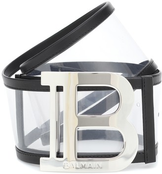Balmain Logo PVC belt