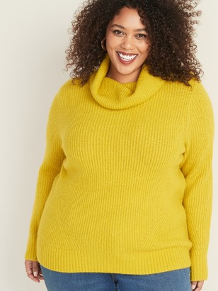 Old Navy Plus-Size Shaker-Stitch Turtleneck Sweater