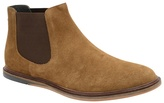 Frank Wright Tobacco 'vogts' Flat Slip On Chelsea Boots