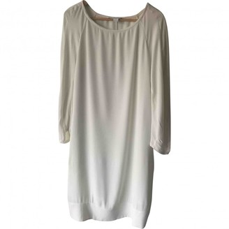 Diane von Furstenberg Ecru Viscose Dresses
