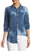 Ralph Lauren Bleached Western Denim Shirt