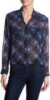The Kooples Plaid Button Up Shirt
