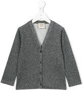 Douuod Kids - metallic cardigan - kids - Polyamide/Polyester/Polyurethane/Viscose - 8 yrs