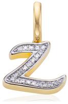 Monica Vinader Diamond Alphabet Pendant Z