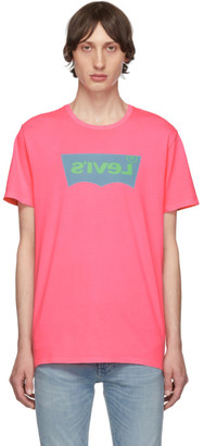 Levi's Levis Pink Housemark Graphic T-Shirt