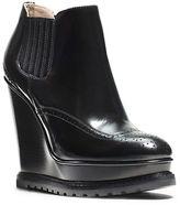 Michael Kors Collette Leather Wingtip Booties