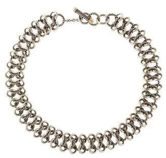 David Yurman Chain Mail Choker Necklace