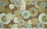 Liora Manné Trans Ocean Imports Ravella Disco Floral Indoor Outdoor Rug