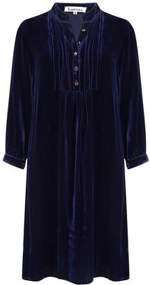 Libelula Chloe Dress Navy Velvet