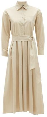 Max Mara Jums Shirt Dress - Womens - Beige