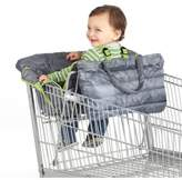 Nuby NubyTM Quilted Shopping Cart and High Chair Cover in Grey