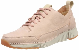 Clarks Women's Tri Spark. Low-Top Sneakers Pink (Light Pink 5 UK