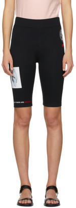 Burberry Black Maisie Biker Shorts