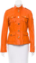 Tory Burch Leather Safari Jacket
