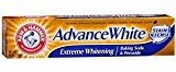 Arm & Hammer Advance White Extreme Whitening with Stain Defense Toothpaste, 6 oz (Pack of 4)